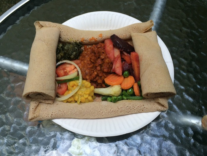 Ethiopian food ©Tabor Food Concept - Luxembourg