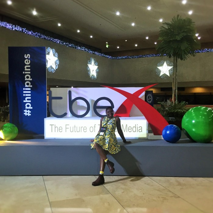 Me at TBEX - Travel Blog Exchange Asia Pacific 2016 - The future of travel Media!