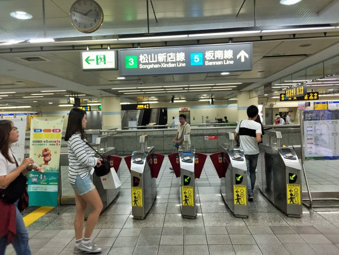 Taipei is easy to navigate using public transport.