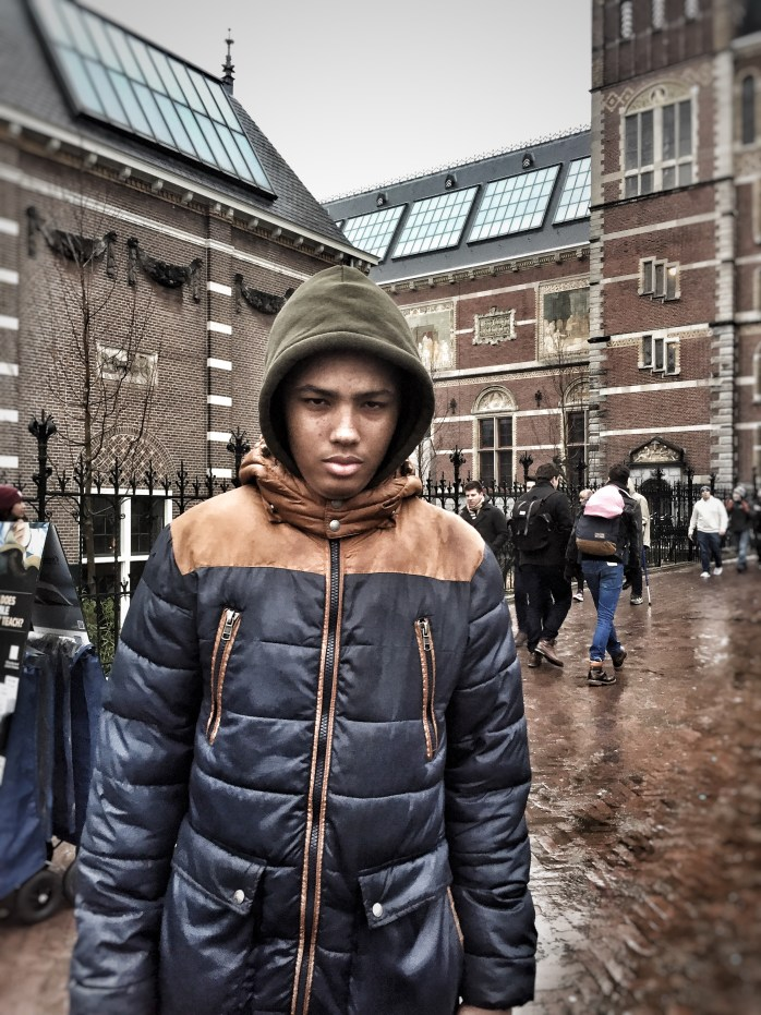 The Tall Young Gentleman; teenager; Amsterdam; Holland; Netherlands; Europe; travel; family travel;