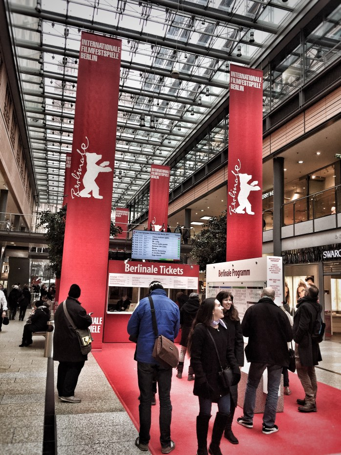 Search for a programme at the Berlinale.