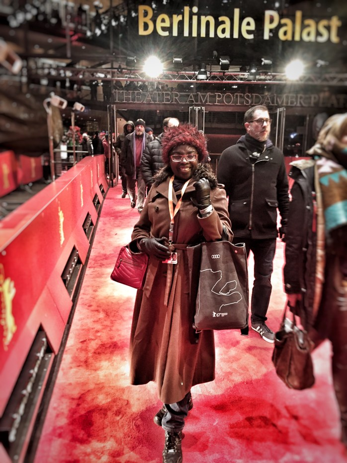 Me at the Berlin International Film Festival aka the Berlinale!