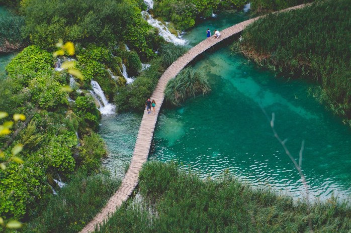 We didn't have time to go to the Plitvice Lake nearby, but we'll certainly do so, next time!
