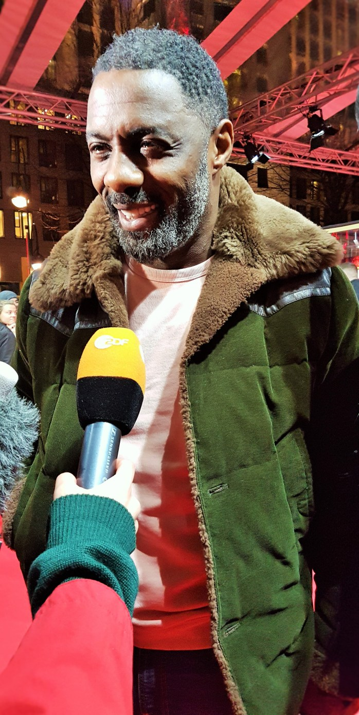 Idris Elba; Idris; Elba; Director of Yardie; Yardie; Zoo Palast; Berlinale; 69th Berlinale; Berlin International Film Festival; Internationale Filmfestspiele Berlin; International Film Festival; Film Festival; film; films; movies; festival; Berlin Films; Berlin; Germany