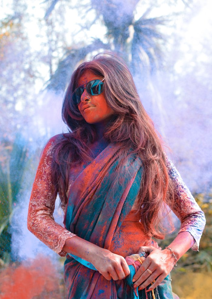 Holi; Holi festival; Exotic India; Amazing India; exotic; amazing; awesome; Indian people; Indian; Indian culture; Indian woman; religious woman; Indian religion; religion; holy; Hinduism; Hindu; people; clothes; clothing; Indian clothes; dancing; dance; Indian dancing; culture; Indian traditions; traditions; India