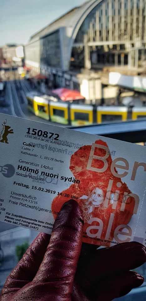 Berlinale ticket; ticket; Berlin tram; tram in Berlin; Cubix; Berlinale Generation 14plus; Generation 14plus; Berlinale; 69th Berlinale; Berlin International Film Festival; Internationale Filmfestspiele Berlin; International Film Festival; Film Festival; film; films; movies; festival; Berlin Films; Berlin; Germany