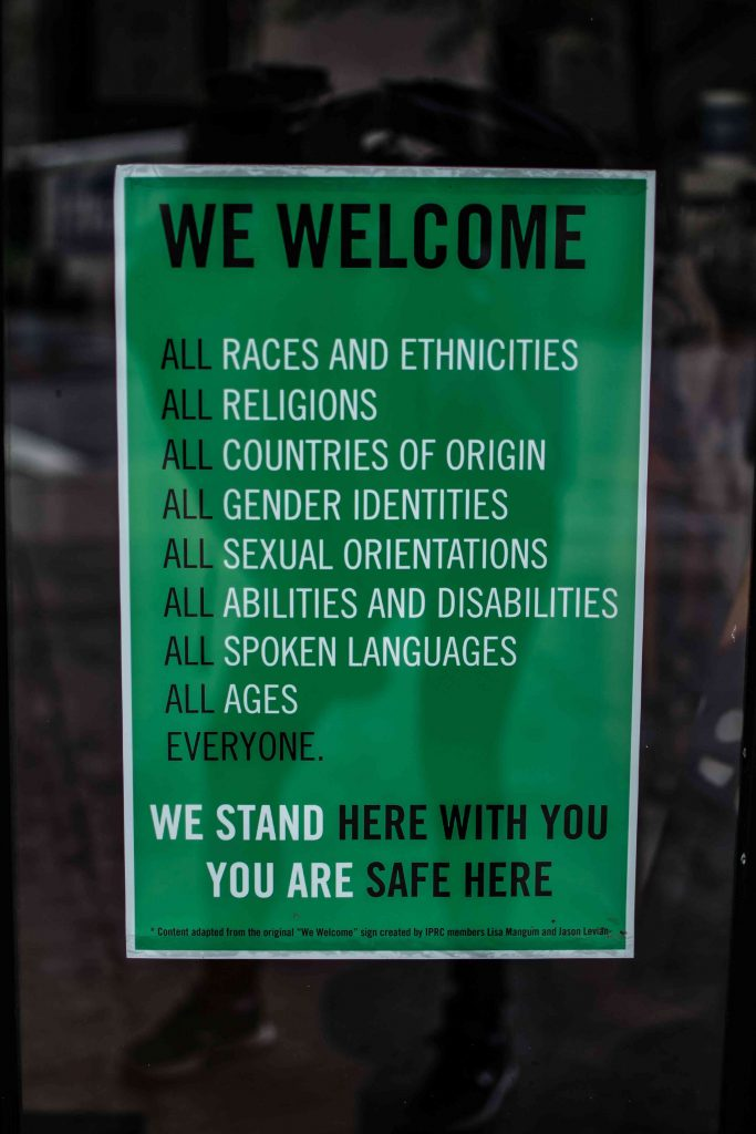 We Welcome Everyone; racism; black lives matter; black lives; black people; people of colour; non-white people; prejudice; discrimination; intolerance; stop killing us; black empowerment; black pride; America; Europe; all races; unity; racial injustice; blm; tolerance; peace;