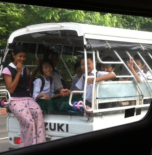 Kids in Yangon, Myanmar - The Broad Life