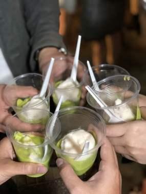 the best avocado ice-cream at dalat city
