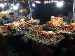 A sum up of Dalat streetfood at night