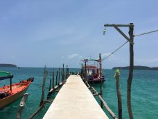 koh rong samloem pier in cambodia 7 days itinerary