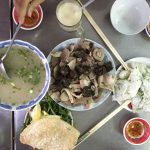 Soft Thin Vermicelli Noodles with Congee and Pork Offal, Quy Nhon Special Cuisine