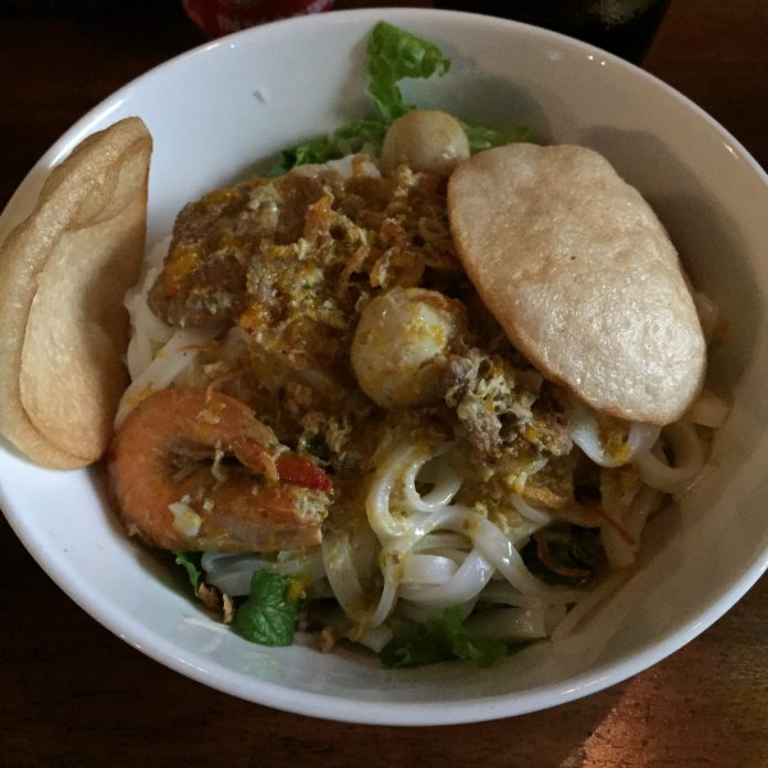 Quang Style Noodle can be found easily around the town