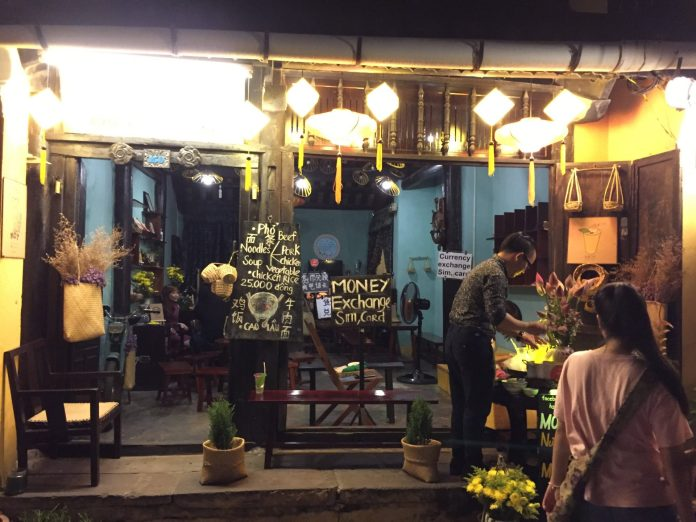 The shop that sells 'Nước Mót' at Hoi An Ancient Town
