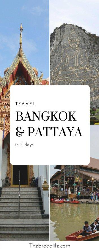 4 Days Travel to Bangkok and Pattaya
