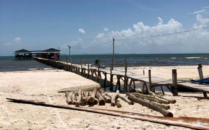 A seafood restaurant at Rach Vem Beach, Phu Quoc Island, Vietnam