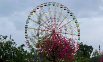 Ferris wheel at Vinpearl Land, Phu Quoc Island, Vietnam