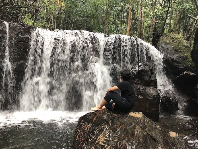 Tranh Stream at Phu Quoc Island, Vietnam