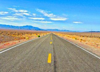 On an USA road trip