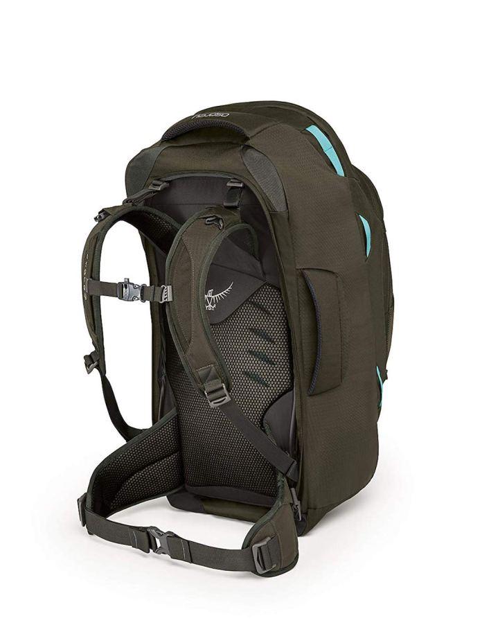 Outside Osprey Fairview 55 Travel Backpack