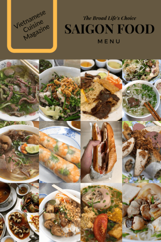 Pinterest Board of 12 must-try Saigon Foods - The Broad Life