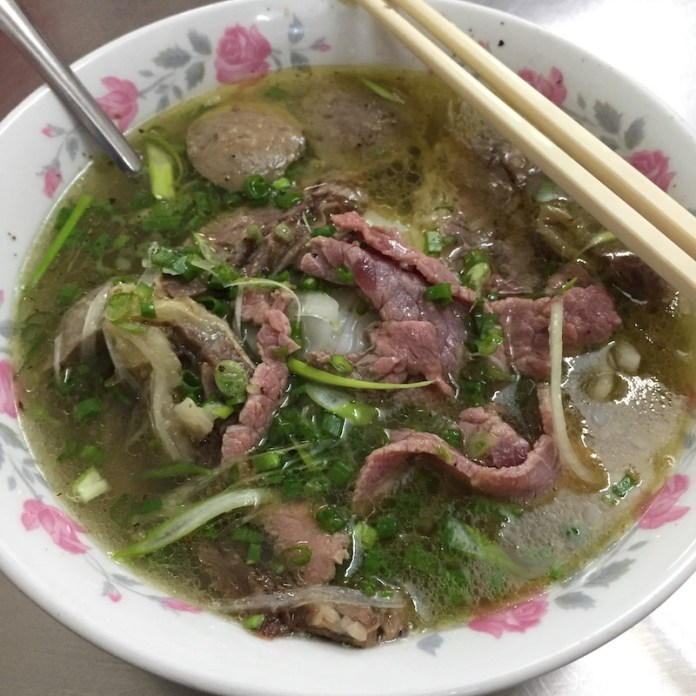 Pho, Saigon food, Vietnamese cuisine
