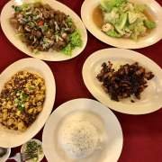 The dishes we order at A Taste Of Teksen, George Town, Malaysia