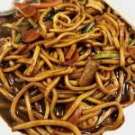 black noodle, malaysian food