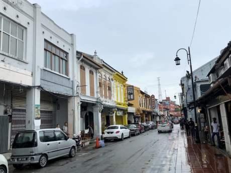 wandering around Malacca Town