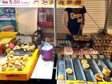 streetfood at Melacca night market