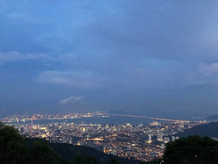 Penang Hill, George Town - the best place for a panoramic view of George Town and Penang Bridge