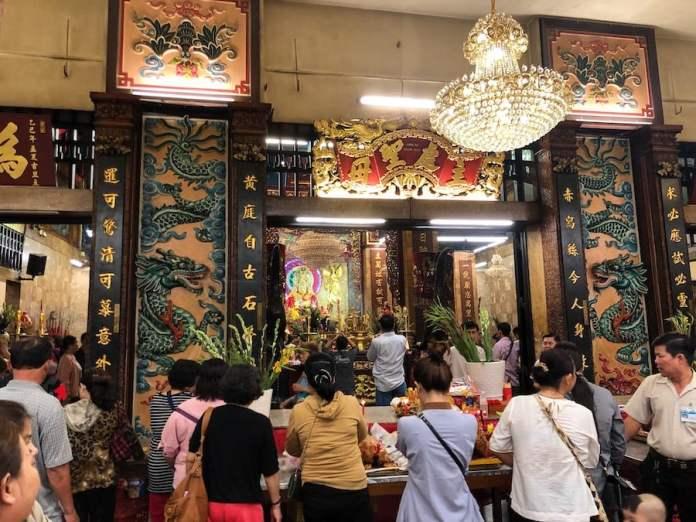Bà Chúa Xứ at Chau Doc temple, an giang, vietnam