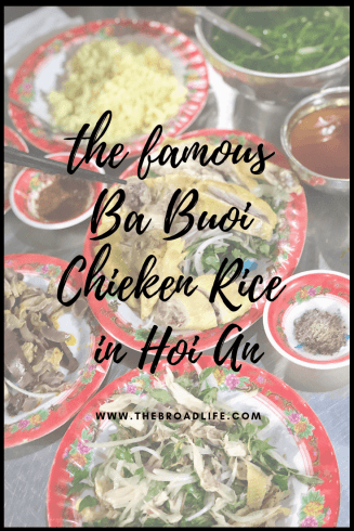 Pinterest board of A Review of Ba Buoi Chicken Rice in Hoi An - The Broad Life