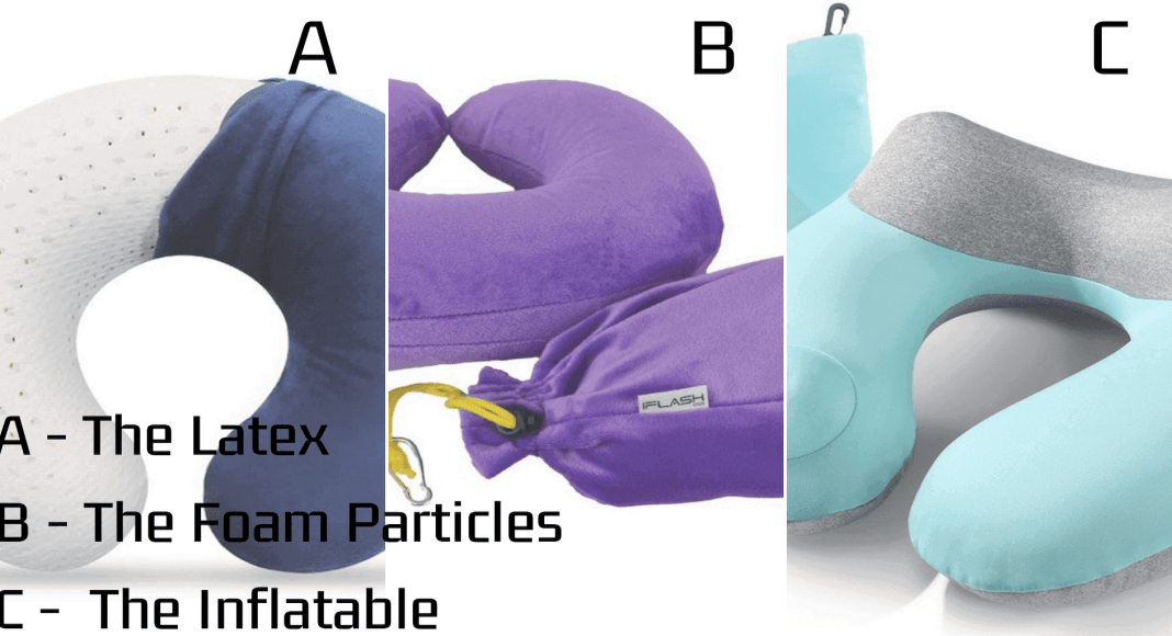 3 best types of neck pillow for travelers
