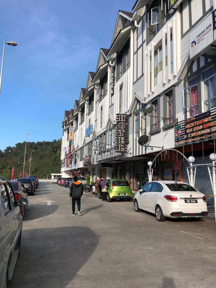 i'm going to the hotel I booked at Cameron Highlands