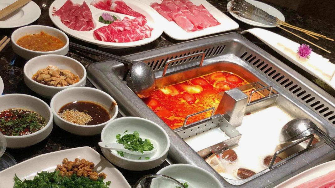 Haidilao hotpot in singapore