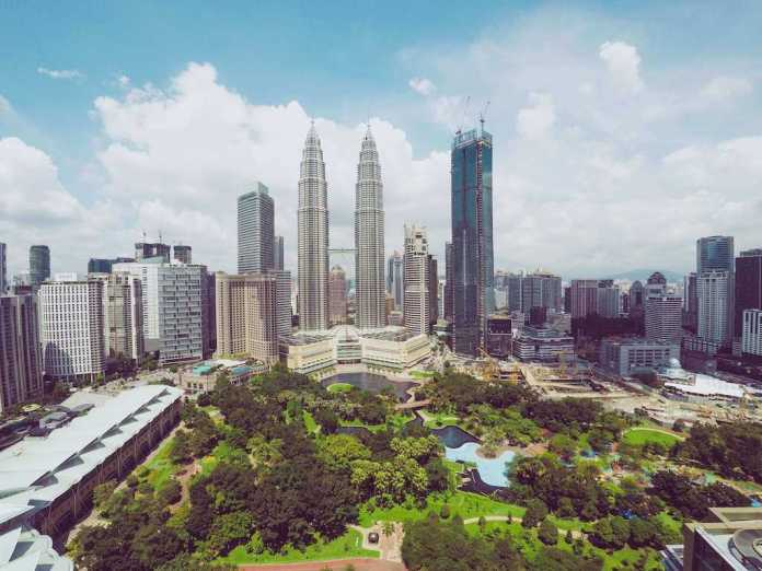 Kuala Lumpur, the capital of Malaysia, a country in the Far East Asia region