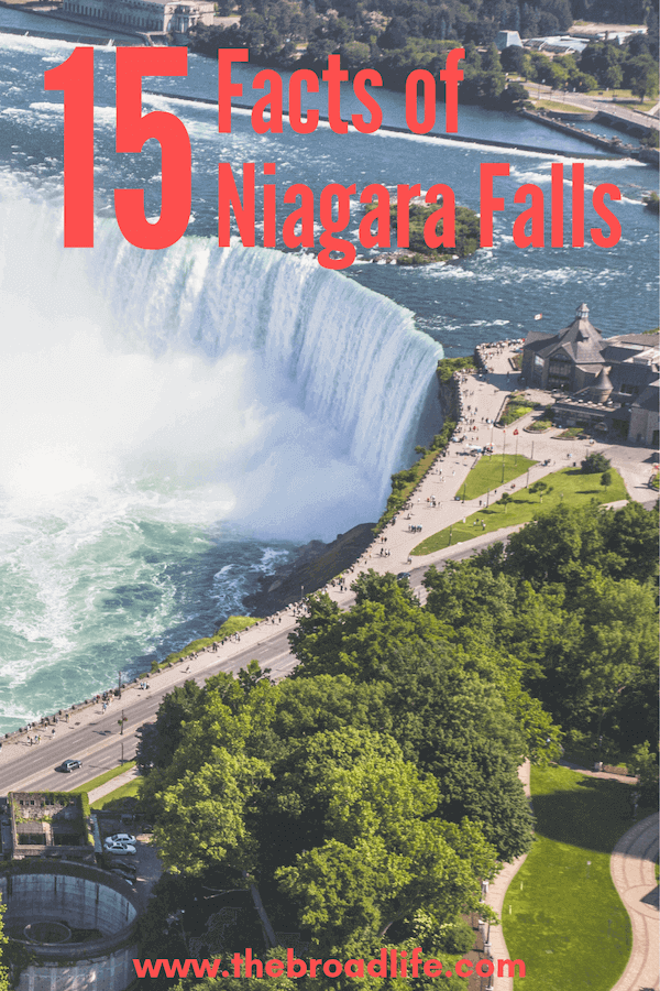 The Broad Life's Pinterest Board of 15 Facts of Niagara Falls Canada