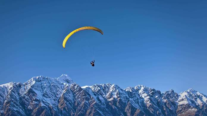 Paragliding at Nepal
