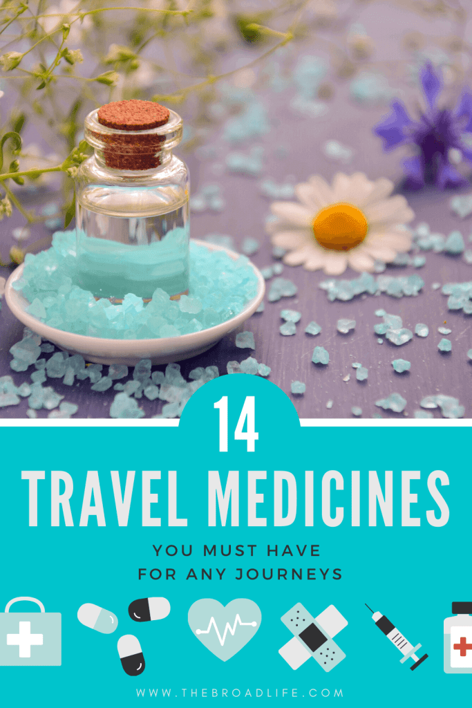 The Broad Life's 14 Travel Medicines Pinterest Board