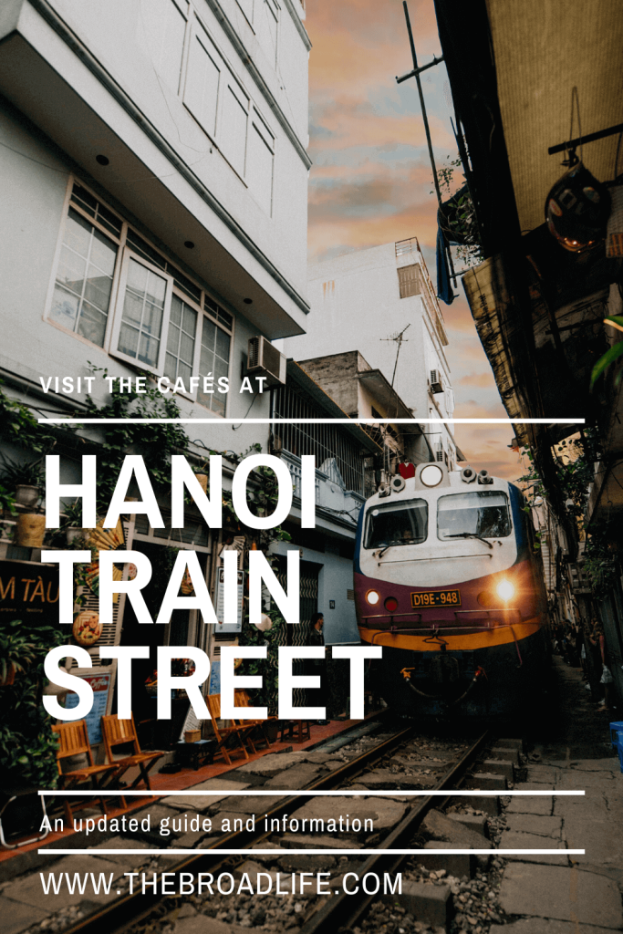 Visit the Cafés at Hanoi train street - The Broad Life's Pinterest Board