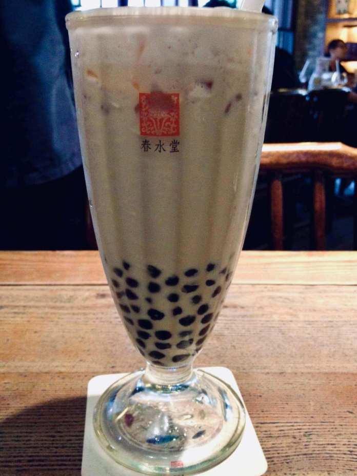 The classic Chun Shui Tang bubble tea