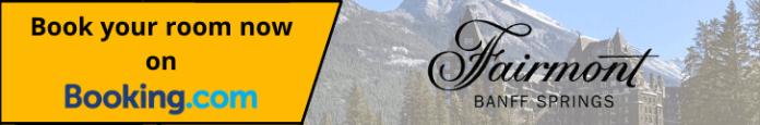 CTA Book now on Booking.com - Fairmont Banff Springs