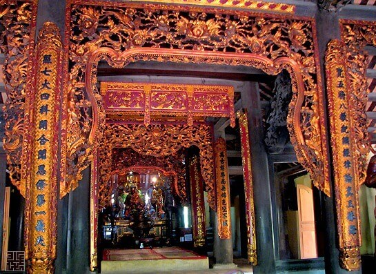 The Great Hall of Con Son Pagoda