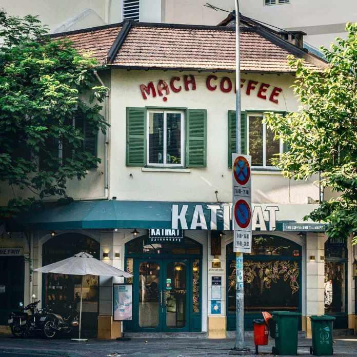 The store Katinat Saigon Kafe