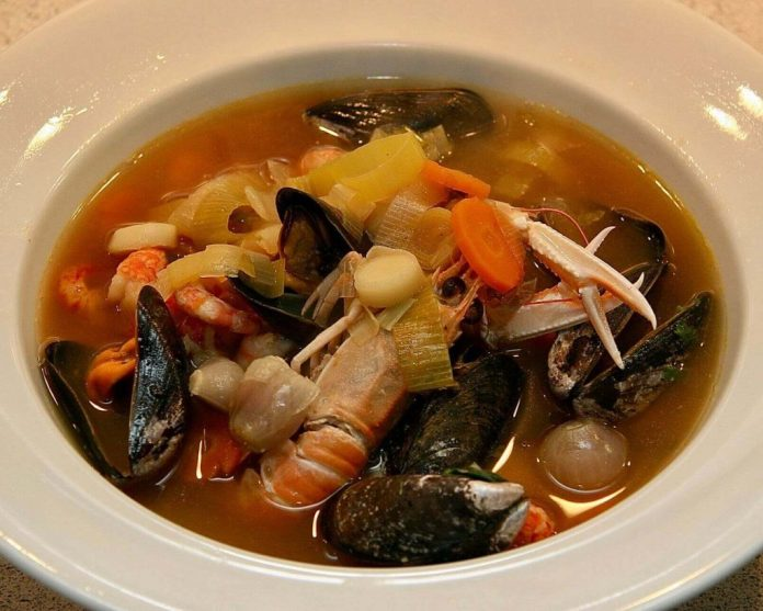 French Bouillabaisse In Marseille, a typical food experience