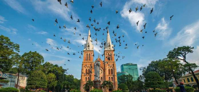 Notre-dame Cathedral of Saigon