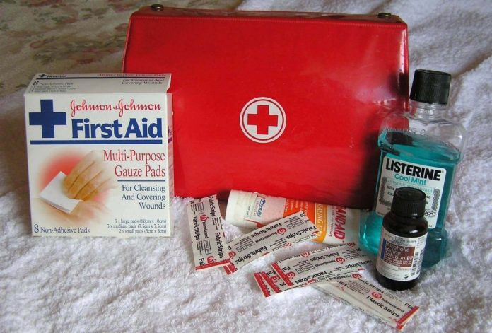 First aid kit is necessary for any journey
