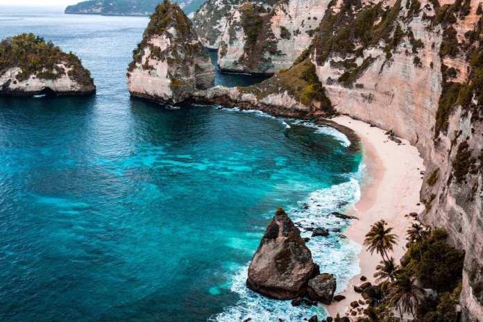 Beautiful Nusa Penida at Bali