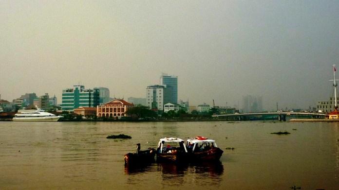 Nha Rong Harbor and Khanh Hoi Bridge